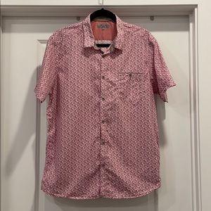Men's Ted Baker Button Down Short Sleeve Shirt